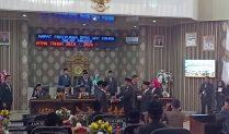Dilantiknya 40 Anggota DPRD Kabupaten Way Kanan periode tahun 2019-2024