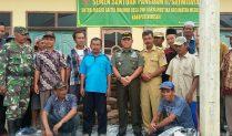 Pangdam II/Sriwijaya Bantu 500 Sak Semen untuk Masjid Desa DKM