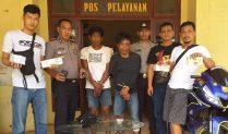 Dua Warga Mesuji Ditangkap PolSek Rawa Jitu Selatan Curi Sepeda Motor di Enam TKP dan Bersenpi