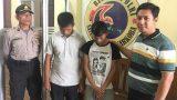 Tim Gagak Hitam Polres Tulang Bawang Tangkap Dua Pemuda Yang Membawa Sabu dan Inex