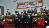 Anggota DPRD Periode 2019-2024 TuBaBa Dilantik