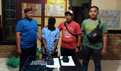 Polsek Dente Teladas Tangkap Bandar Narkotika dan Sita 31 Bungkus Sabu