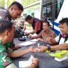 Jelang HUT TNI Ke-74, Polres Tulang Bawang Gelar Baksos Kesehatan