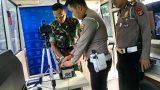 Satlantas Polres Tulang Bawang Lakukan Terobosan Kreatif Jelang HUT TNI Ke-74
