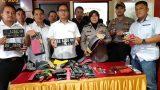 Ditreskrimum Polda Lampung bersama Satreskrim Polres Lampung Selatan dan Polsek Natar berhasil ungkap kasus pencurian kendaraan bermotor