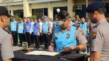 KaPolDa Lampung Pimpin Apel Penandatanganan Pakta Integritas dan Pengambilan Sumpah Panitia dan Peserta Seleksi Dikbang