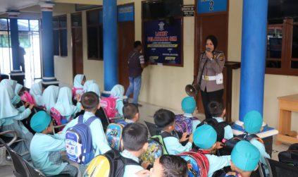 Puluhan Anak TK Ikuti Kegiatan Polsana di Polres Tulang Bawang, Kasat Lantas : Ini Tujuannya