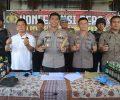 Berikut Hasil Operasi Cempaka Krakatau 2020 Yang Digelar Polres Tulang Bawang