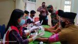 HUT Ke-75, PMI dan KNPI Kota Bandar Lampung Gelar Aksi Donor Darah