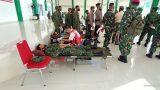 Peringati Hari Ulang Tahun (HUT) TNI ke 75 Tahun 2020 Korem 043/Gatam Gelar BakSos