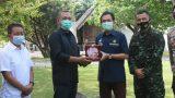 Bupati TuBaBa Terima Cindramata Dari Kepala BPH Migas