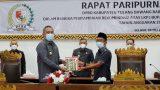 DPRD TuBaBa Gelar Rapat Paripurna Penyampaian Rekomendasi LKPJ Bupati Tahun Anggaran 2020