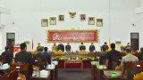 DPRD TuBaBa Gelar Rapat Paripurna Bahas Raperda Tentang Pertanggungjawaban Pelaksanaan APBD Kabupaten TuBaBa Tahun Anggaran 2020