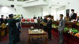 SekDaKab TuBaBa Hadiri Rapat Paripurna Peresmian Pengangkatan PAW Anggota DPRD TuBaBa