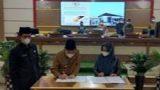 DPRD Mesuji Lampung Gelar Rapat Paripurna Penandatangan Persetujuan Ranperda tentang laporan Pertanggungjawaban Pelaksanaan APBD Tahun Anggaran 2020
