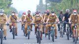Bersepeda Bersama Winarti Bupati Tuba Tinjau Belajar Tatap Muka Hari Pertama