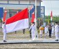Ketua DPRD Mesuji Elfiyana Beserta Anggotanya Mengikuti Upacara HUT RI ke 76