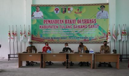 Fauzi Hasan WaBup TuBaBa Buka Talent Scouting