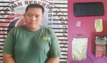 Polres Tulang Bawang Tangkap Pembawa Narkotika di Jalan Lintas Kampung Banjar Agung