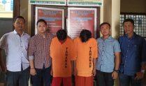 Polisi Bersama Warga Tangkap Tiga Pelaku Percobaan Curas di Tulang Bawang Barat