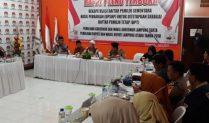 Pilbup dan Pilgub 2018 KPU Lampung Utara Tetapkan 418.420 Mata Pilih