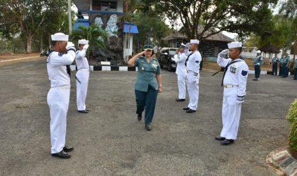 Kimal Lampung menerima kunjungan kerja Kadiswatpersal Mabesal