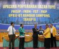 Wabup Way Kanan Hadiri Upacara Penyerahan Ijazah UPBJJ UT Bandar Lampung Tahap 2